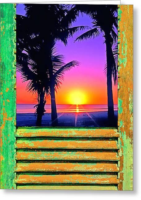 Island Shutter Greeting Card