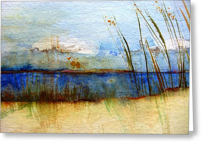 Island.... Sylt4 Greeting Card by Jacqueline Schreiber