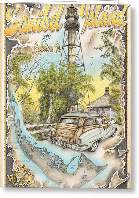 Island Vacation Greeting Card