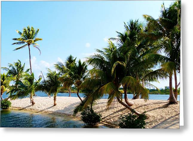 Greeting Card featuring the photograph Isle @ Camana Bay by Amar Sheow
