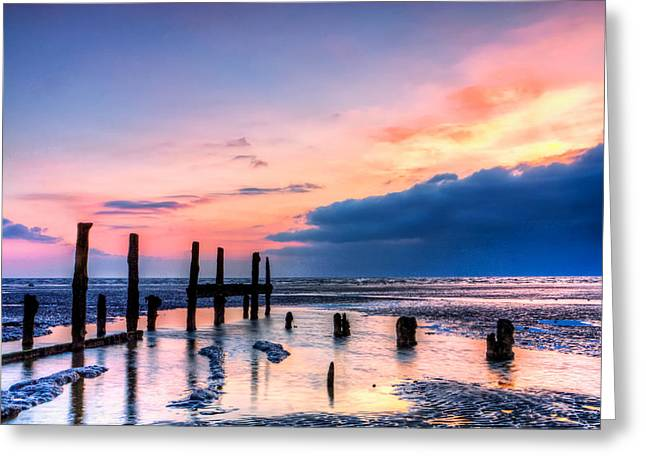 Isle Of Sheppey Greeting Card by Stuart Gennery