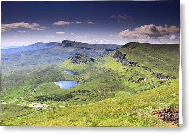 Isle Of Skye   Scotland Greeting Card