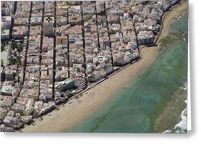 Isleta, Las Palmas Greeting Card by Blom ASA