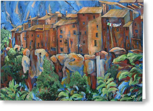 Isola Di Piante Large Italy Greeting Card