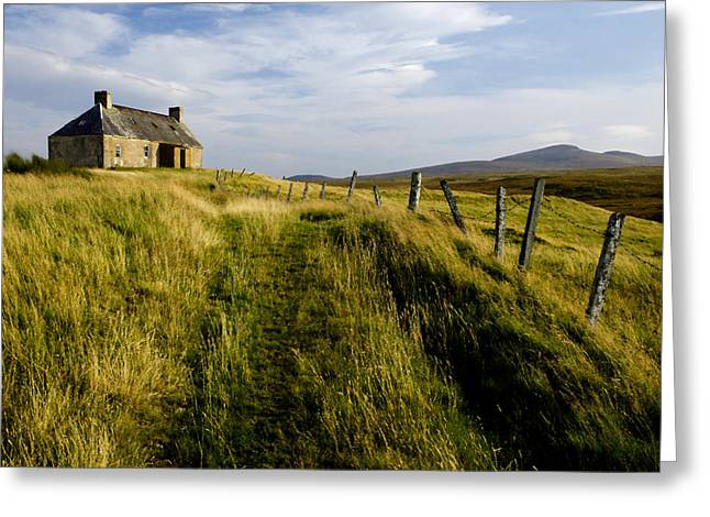 Isolation 2 The Northern Highlands Scotland Greeting Card