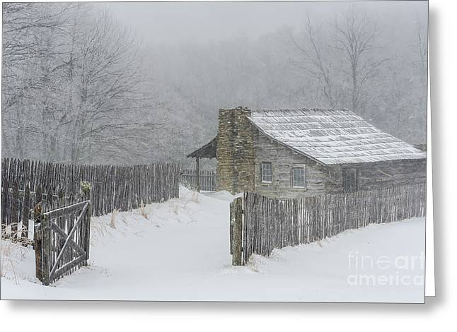 Weathering Greeting Card by Anthony Heflin