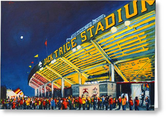 Isu - Jack Trice Stadium Greeting Card