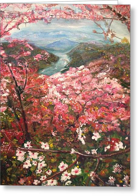 It Is Spring Everyday Greeting Card