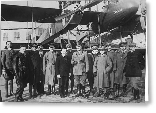 Italian Aircraft Production, World War I Greeting Card by Science Photo Library
