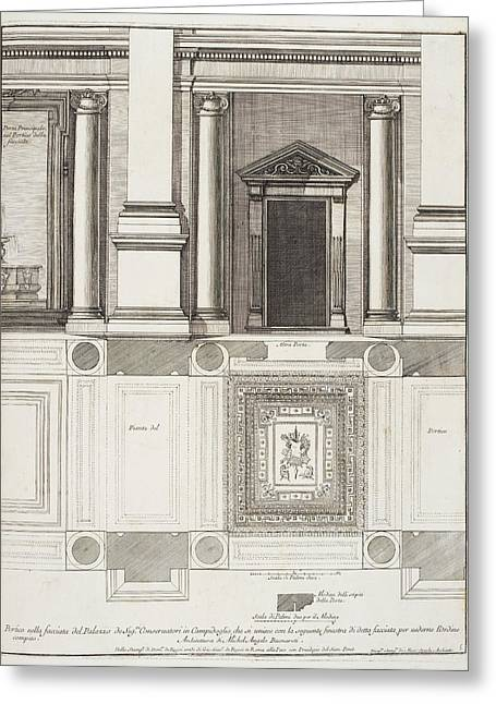 Italian Architecture Greeting Card by British Library