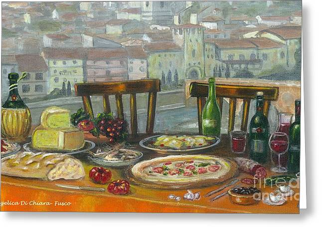 Italian Lunch Greeting Card