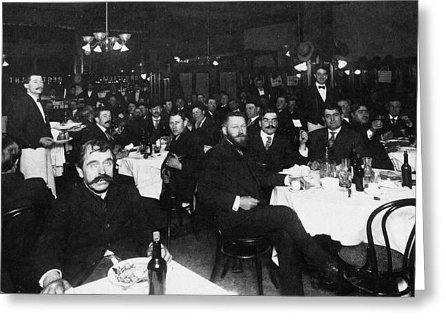 Italian Restaurant, 1909 Greeting Card by Granger
