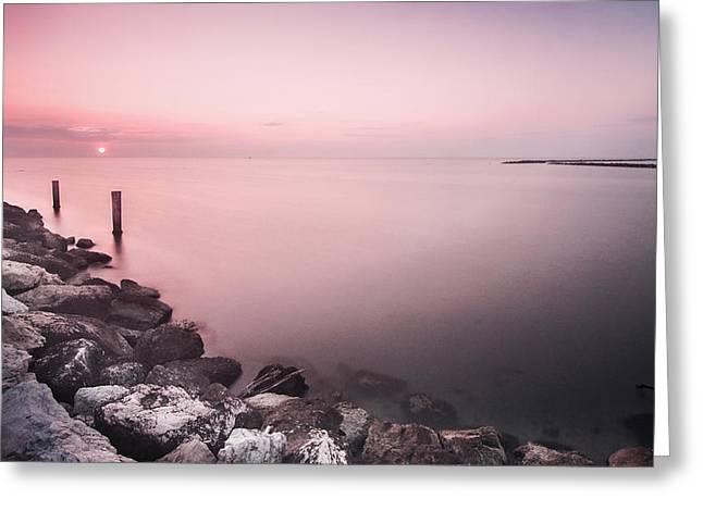 Italian Sunrise Greeting Card by Cristian Ghisla