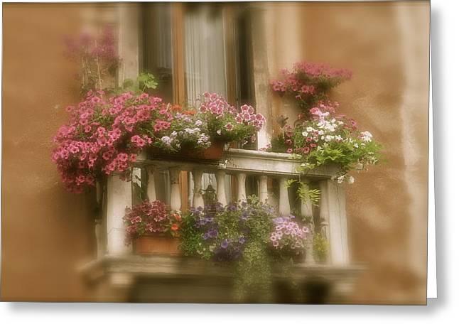 Italian Windowbox 1 Greeting Card