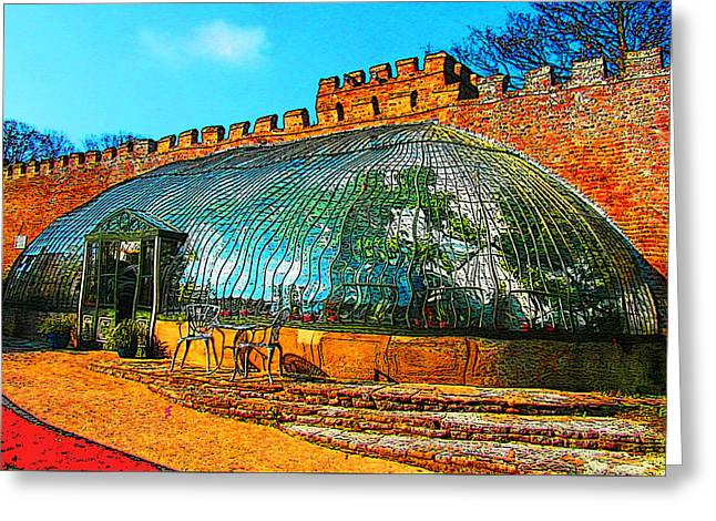 Italianate Greenhouse Ramsgate Greeting Card by Jeff Laurents