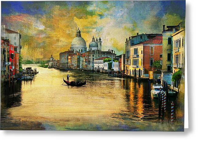 Italy 01 Greeting Card by Catf