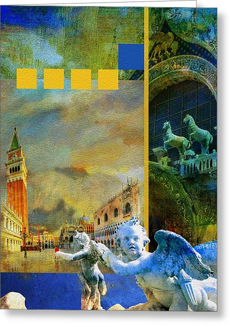Italy 04 Greeting Card by Catf