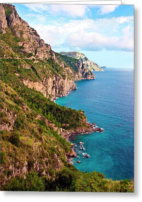 Italy, Campania, Sorrentine Peninsula Greeting Card