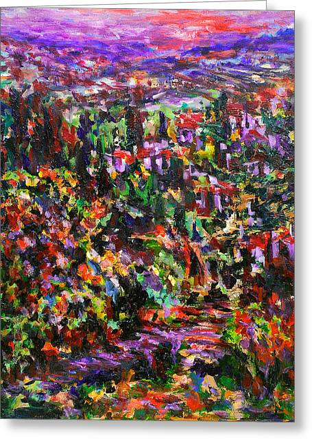 Italy. Evening Greeting Card by Helen Kagan