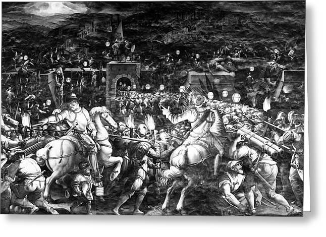 Italy Fall Of Siena, 1555 Greeting Card by Granger