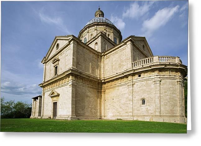 Italy, Montepulciano Greeting Card