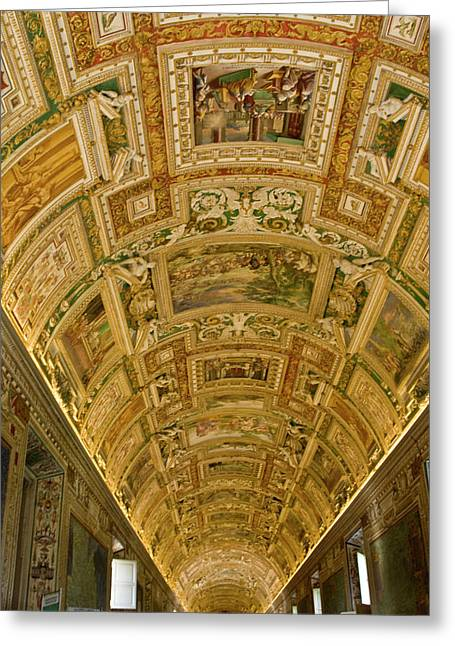 Italy, Rome, Vatican City Greeting Card by Jaynes Gallery