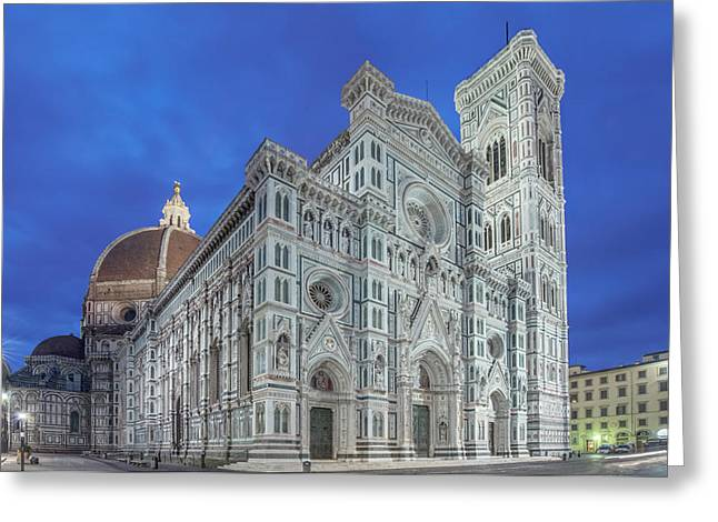 Italy, Tuscany, Florence, Duomo Greeting Card by Rob Tilley