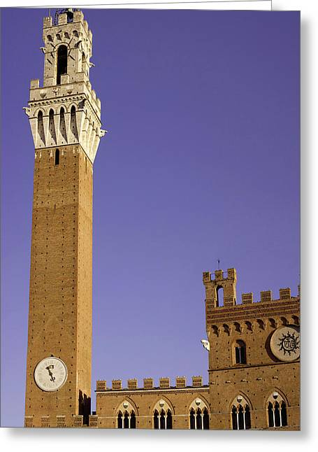 Italy, Tuscany, Sienna Greeting Card by Jaynes Gallery