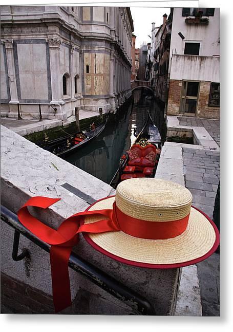 Italy, Veneto, Venice Greeting Card