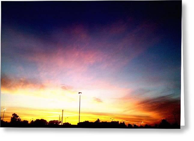 Ithaca New York  Sunset Greeting Card by Jo-Ann Hayden
