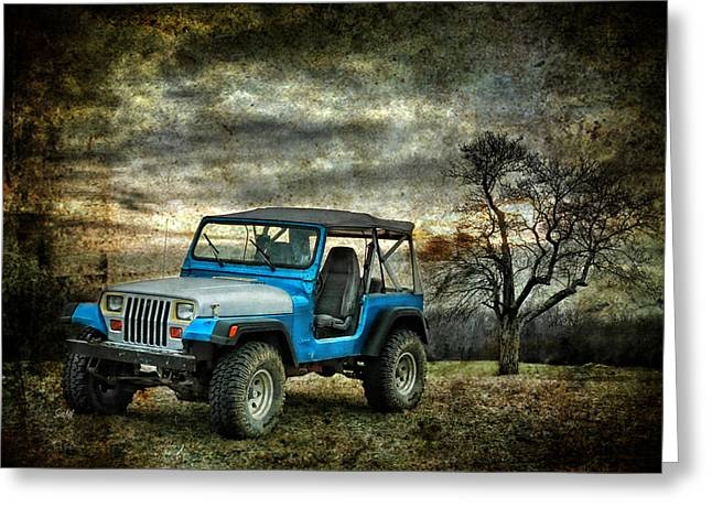 It's A Jeep Thing Greeting Card