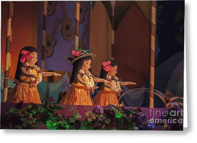 Its A Small World Greeting Card