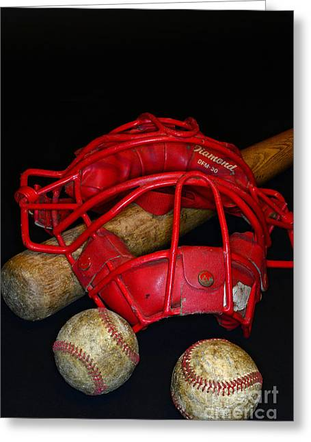 Its All About Baseball Greeting Card by Paul Ward