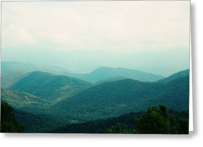 Greeting Card featuring the photograph It's Better In The Mountains by Kim Fearheiley