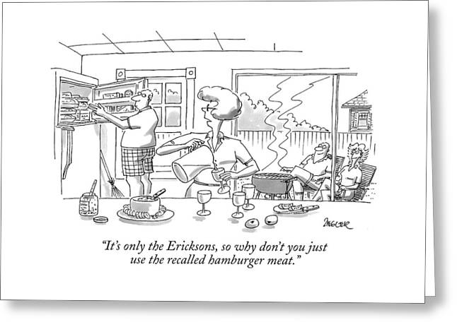 It's Only The Ericksons Greeting Card