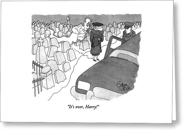 It's Over, Harry! Greeting Card