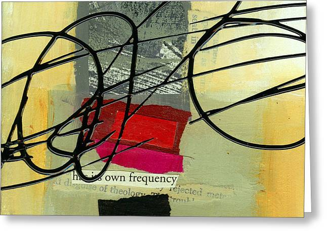 Its Own Frequency Greeting Card by Jane Davies