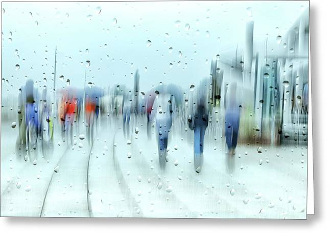 It`s Raining Greeting Card