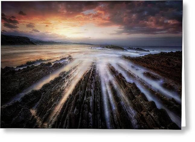 Itzurun Flysch Greeting Card