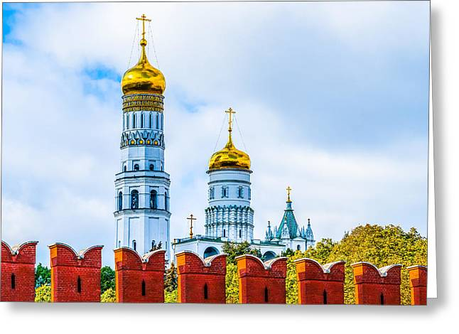 Ivan The Great Bell Tower Greeting Card