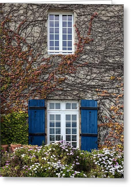 Ivy House Greeting Card by Joana Kruse