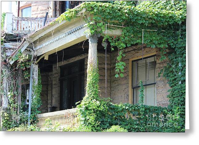 Greeting Card featuring the photograph Ivy Take Over by Cynthia Snyder