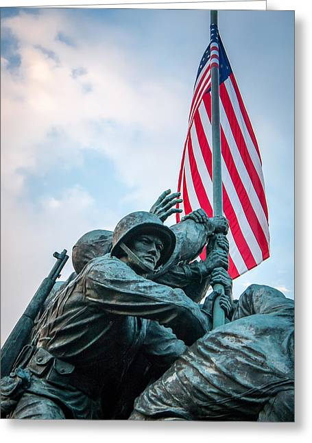 Iwo Jima Forward Greeting Card