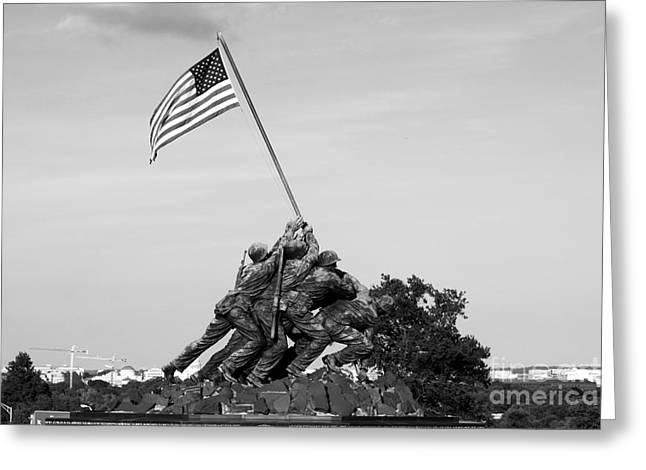 Iwo Jima Memorial Greeting Card
