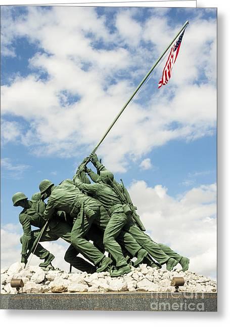 Iwo Jima Monument II Greeting Card