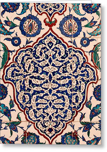 Iznik 04 Greeting Card