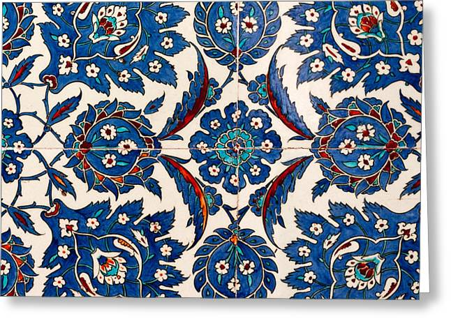 Iznik 12 Greeting Card