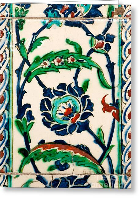 Iznik 20 Greeting Card