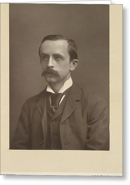 J. M. Barrie Greeting Card by British Library