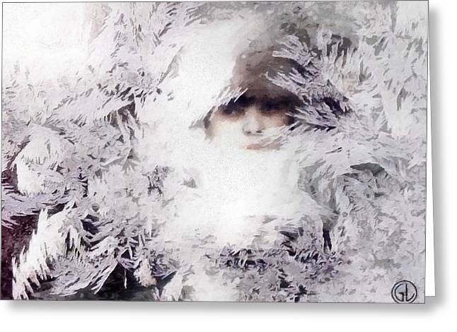 Jack Frost Nipples Your Nose Greeting Card by Gun Legler